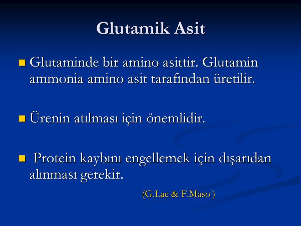 Glutamik Asit Glutaminde bir amino asittir. Glutamin ammonia amino asit tarafından üretilir. Glutaminde bir amino asittir. Glutamin ammonia amino asit