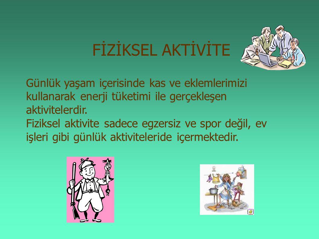 Çocukların yoğun aktiviteler sonrası yeterli sıvı alımı desteklenmelidir.