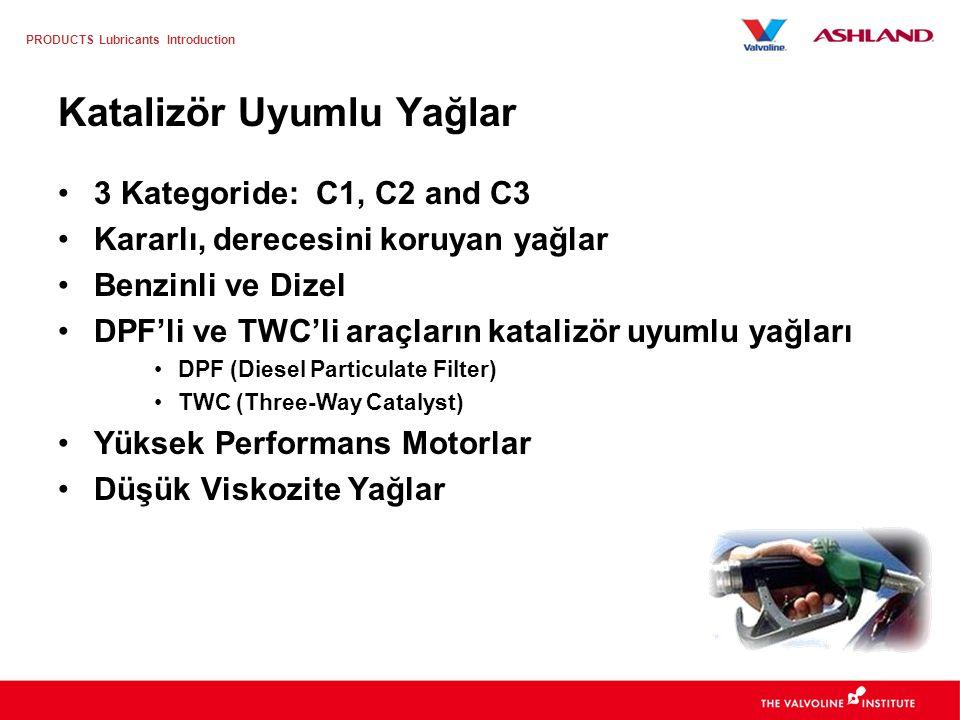 PRODUCTS Lubricants Introduction Motor yağından çıkan sülfatlı kül, Dizel Partikül Filtreleri ve CRT'de tıkanmalara katkıda bulunmaktadır. Bu husus da
