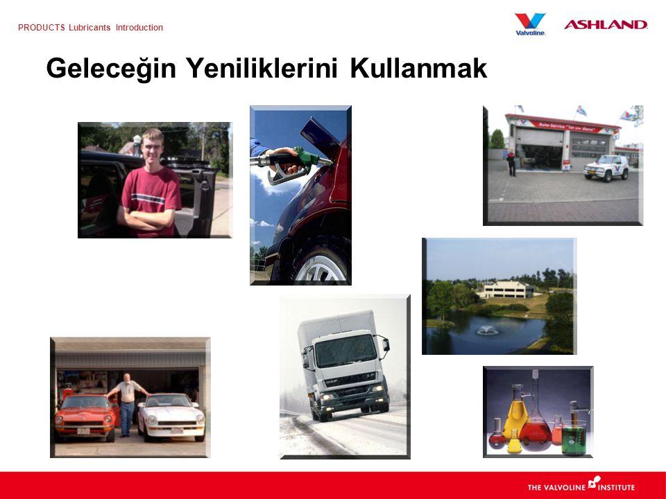 PRODUCTS Lubricants Introduction Yüksek kilometreye sahip araçlar pazara damgasını vurmaktadır Source: BOVAG – RAI, Installer Organization Araç Yapısı (km olarak) > 100.000 km < 100.000 km