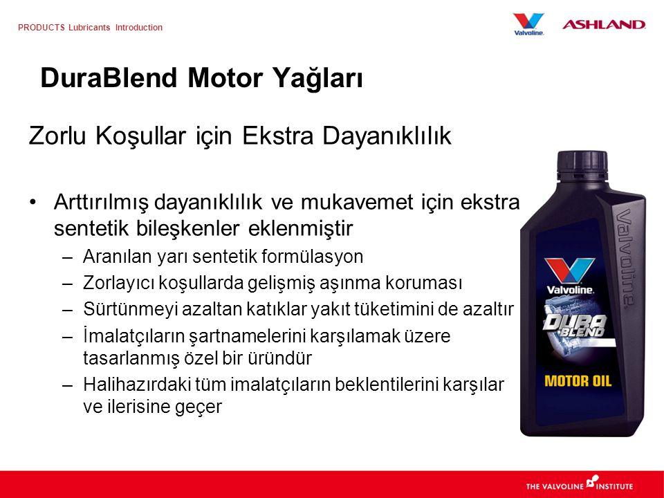 PRODUCTS Lubricants Introduction SynPower Serisi Ürünler SynPower 0W-40, 5W-30, 5W-40 SynPower MXL 0W-30, 5W-30 Özellikle Mercedes Benz ve BMW LongLif