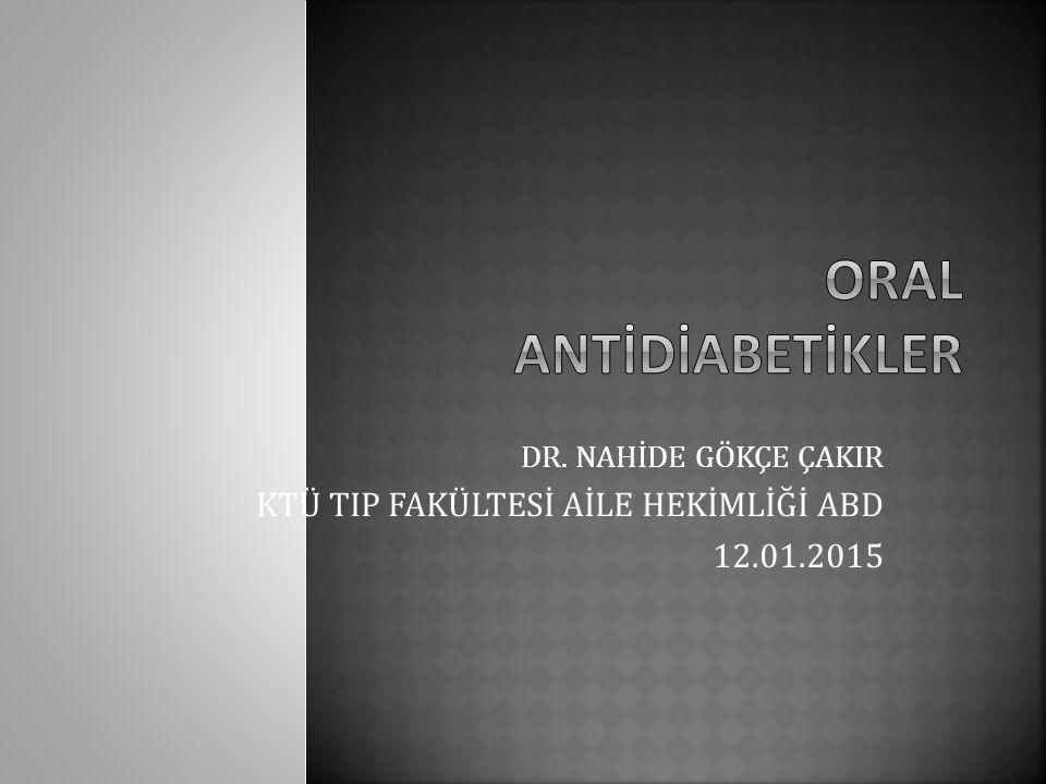  Diyabet başlangıcı 30 yaşından sonra olan  Rezidüel beta hücre fonksiyonu olan  Otoantikorları (anti-GAD ve anti-ICA) negatif olan  Diyabet süresi 5 yıldan az olan  Normal kilolu veya hafif obez  Diyet ve egzersiz programlarına uyumlu  Açlık şekeri<300mg/dl