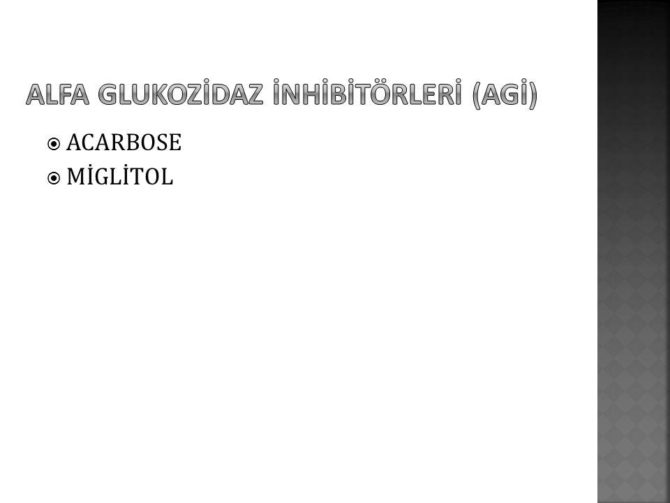  ACARBOSE  MİGLİTOL