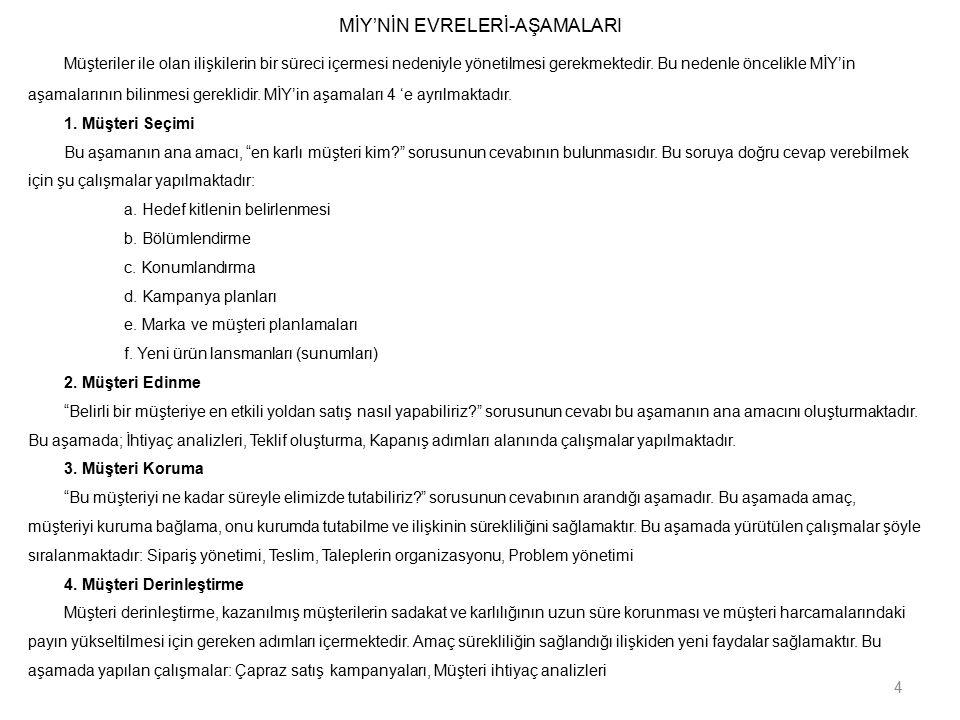 PAZARLAMA VE SATIŞTA TKY 8.