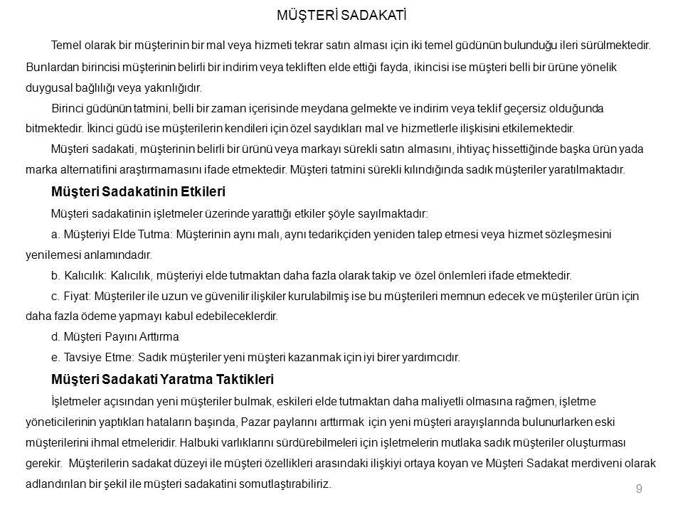 MİY'NDE 10 KRİTİK BAŞARI FAKTÖRÜ 9.