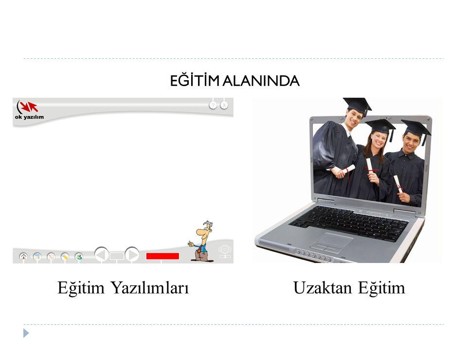 E Ğİ T İ M ALANINDA Eğitim YazılımlarıUzaktan Eğitim