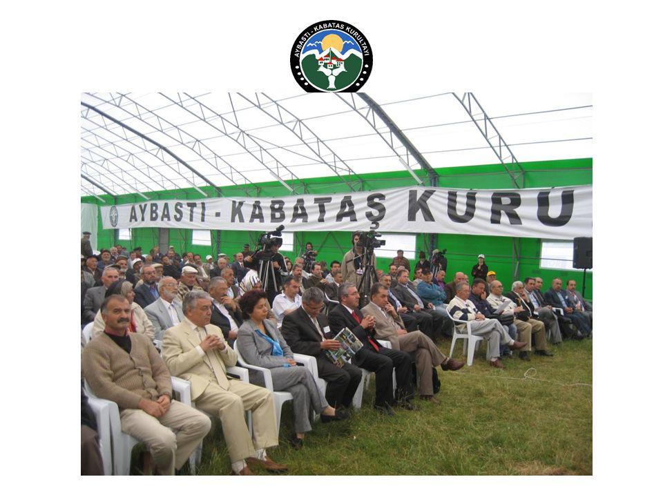  Kurultay web sitesi yayındadır. http://www.aybastikabataskurultayi.com