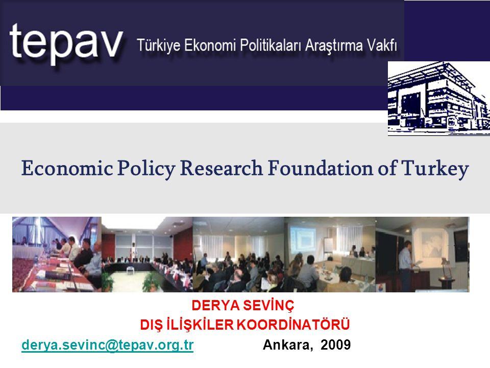 Türkiye Ekonomi Politikaları Araştırma Vakfı 2 TEPAV nedir.