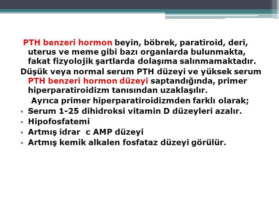 KARDİOVASKÜLER  Hipertansiyon  Aritmiler  EKG'de QT kısalması  Vasküler kalsifikasyon