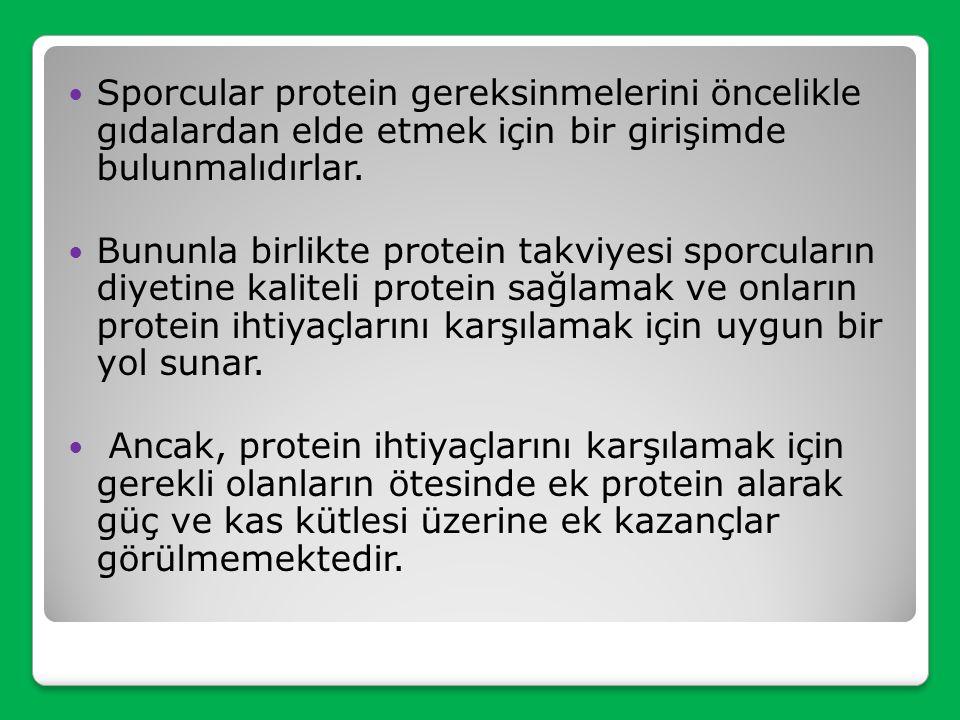 Protein ve Amino Asitler