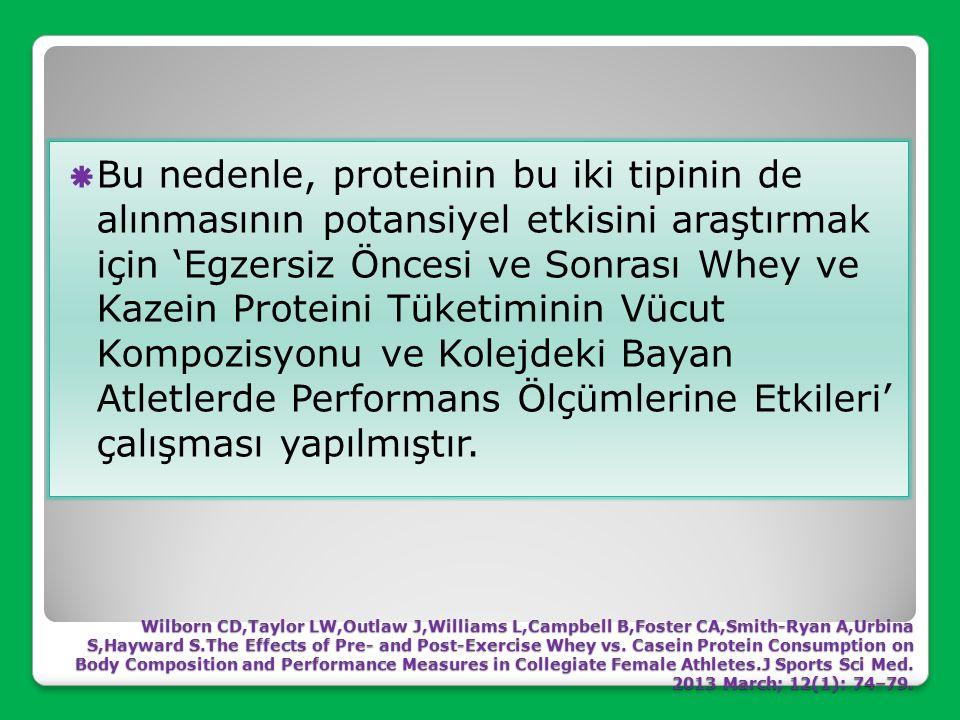 ◊ Piyasadaki en popüler protein formlarından ikisi whey ve kazeindir. ◊ Her iki protein de sütten elde edilir ancak her bir proteinin emilme oranı ve