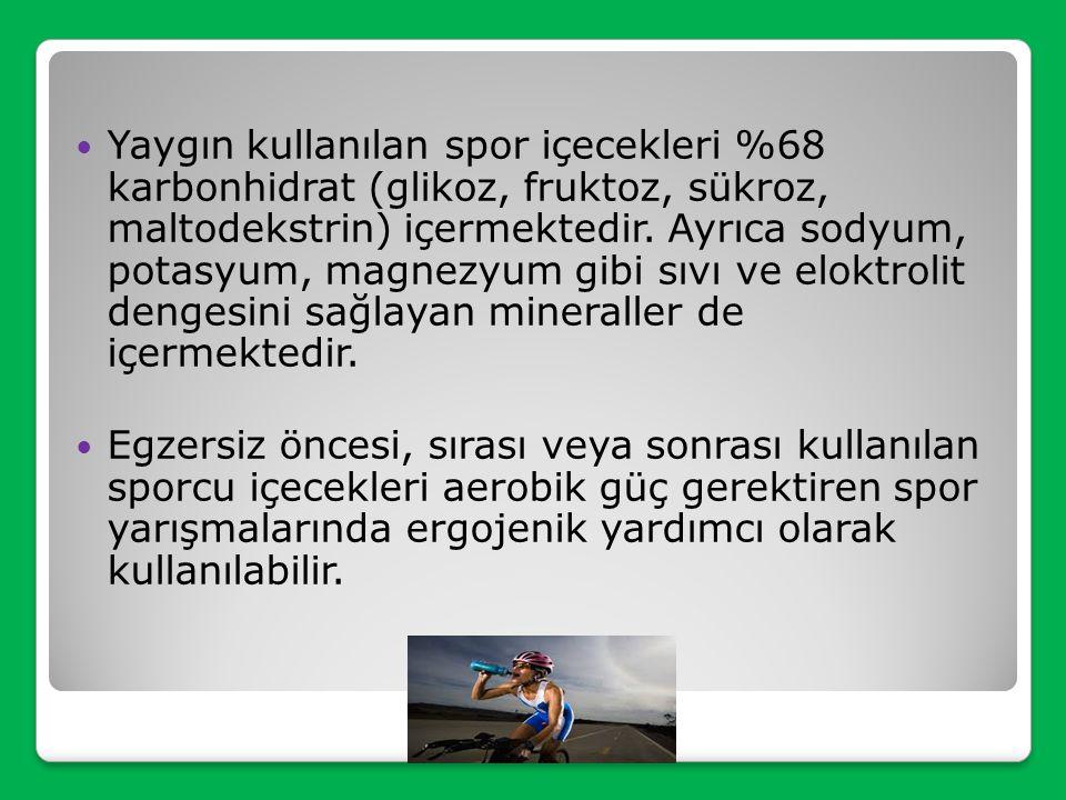 SPOR İÇECEKLERİ