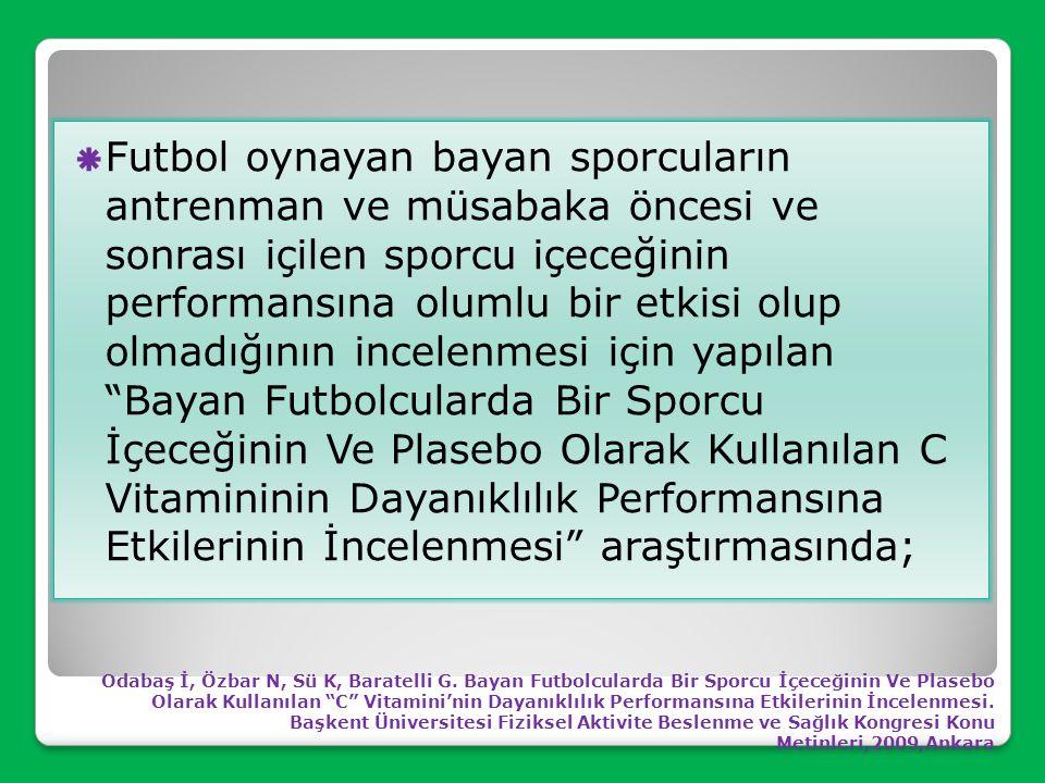 Spor içecekleri enerji içeceklerinden farklıdır ve tanımlar birbiri yerine kullanılmamalıdır. Spor içecekleri bileşiminde; karbohidratlar ve mineralle