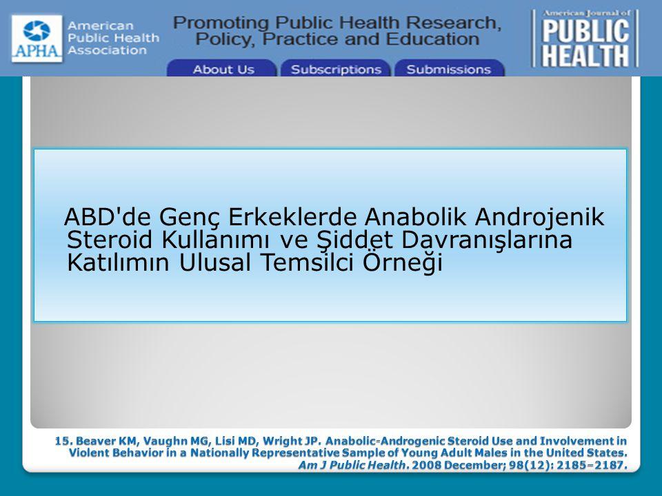  Üreme-endokrin sistemde fertilizasyonda bozulma, LH ve FSH'de azalma, spermatogenezin bozulması, prostat hipertrofisi, özellikle kadınlarda hirsutiz
