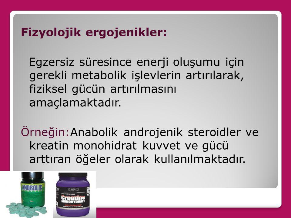 Dayanıklılık aktivitelerinde yakıt olarak kullanılan substratlar serbest yağ asitleri ve kas glikojenidir.
