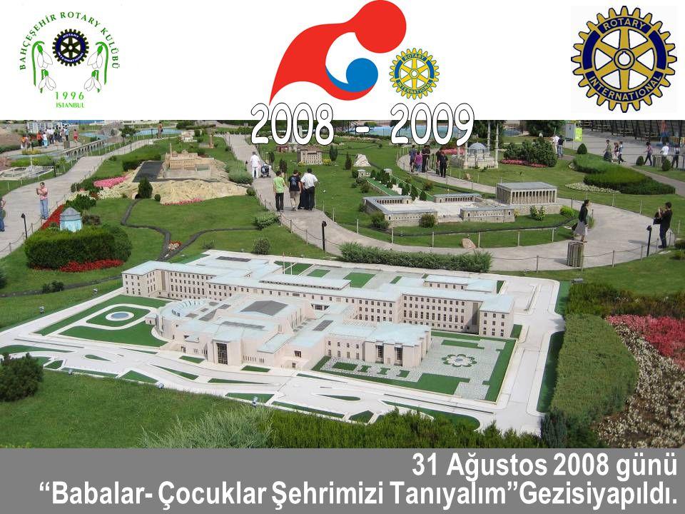 31 Ağustos 2008 günü Babalar- Çocuklar Şehrimizi Tanıyalım Gezisiyapıldı.