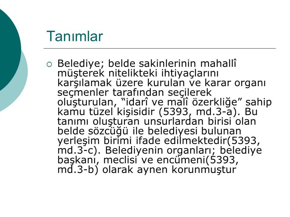 SÜRDÜRÜLEBİLİRLİK  Türkiye'de yerel yönetimlerde belediye örgütlenmesi ve seçim modelleri güçlü başkanlık sistemine dayanmaktadır.