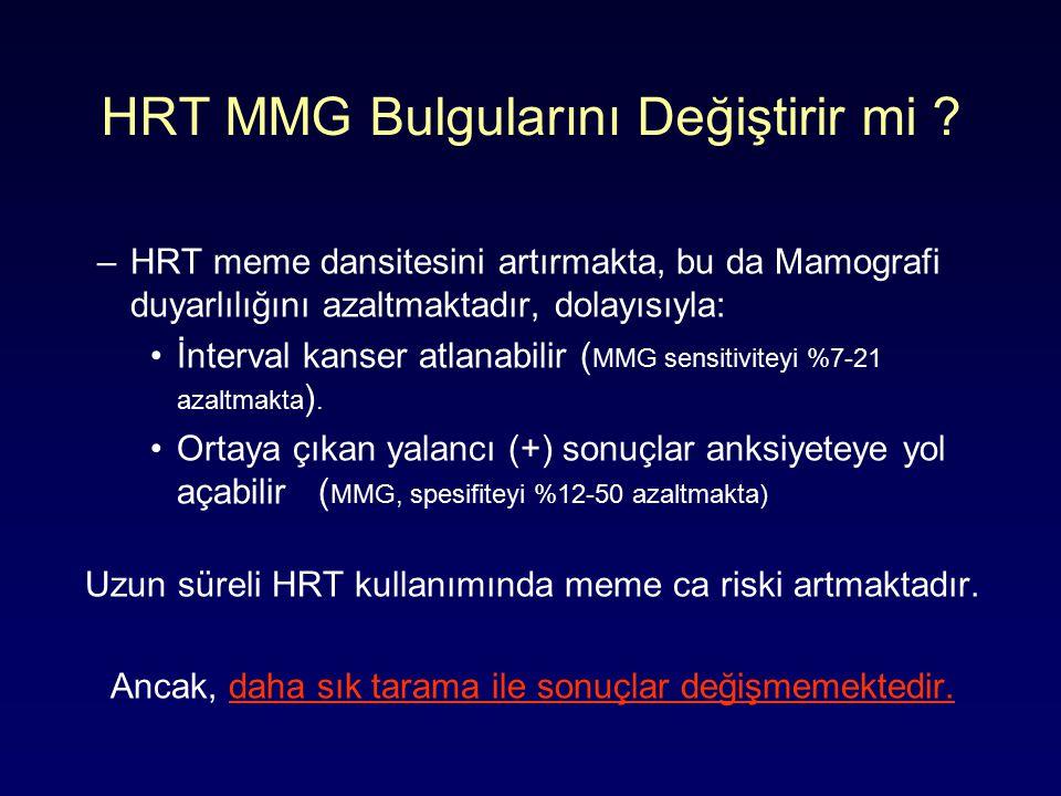 HRT MMG Bulgularını Değiştirir mi .