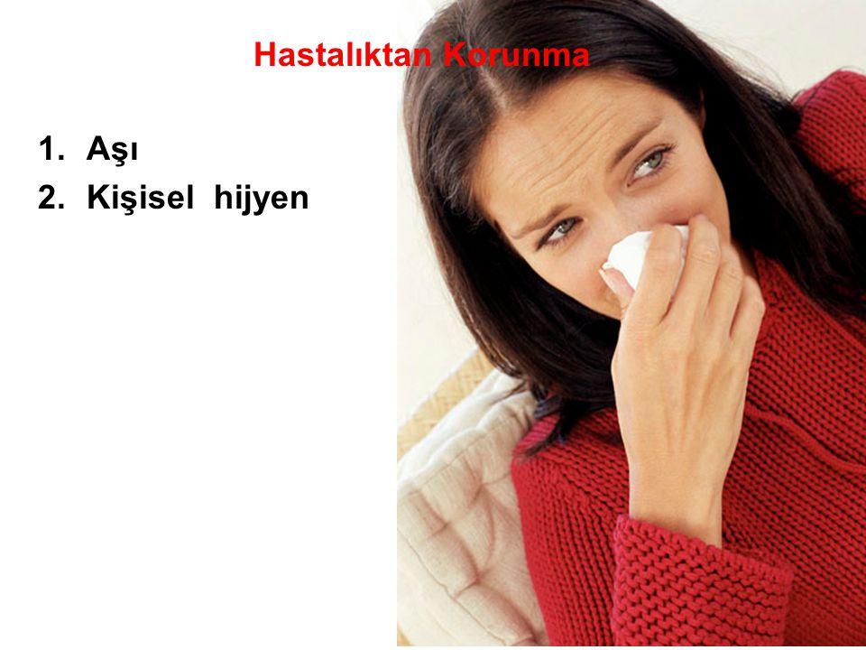 Hastalıktan Korunma 1.Aşı 2.Kişisel hijyen