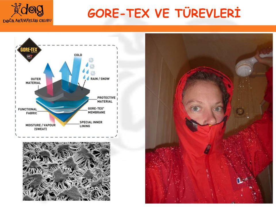 GORE-TEX VE TÜREVLERİ