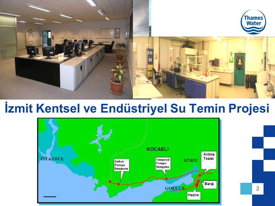 2 İzmit Kentsel ve Endüstriyel Su Temin Projesi