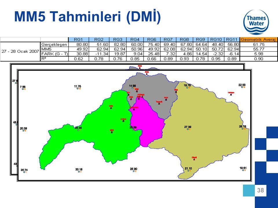 38 MM5 Tahminleri (DMİ)