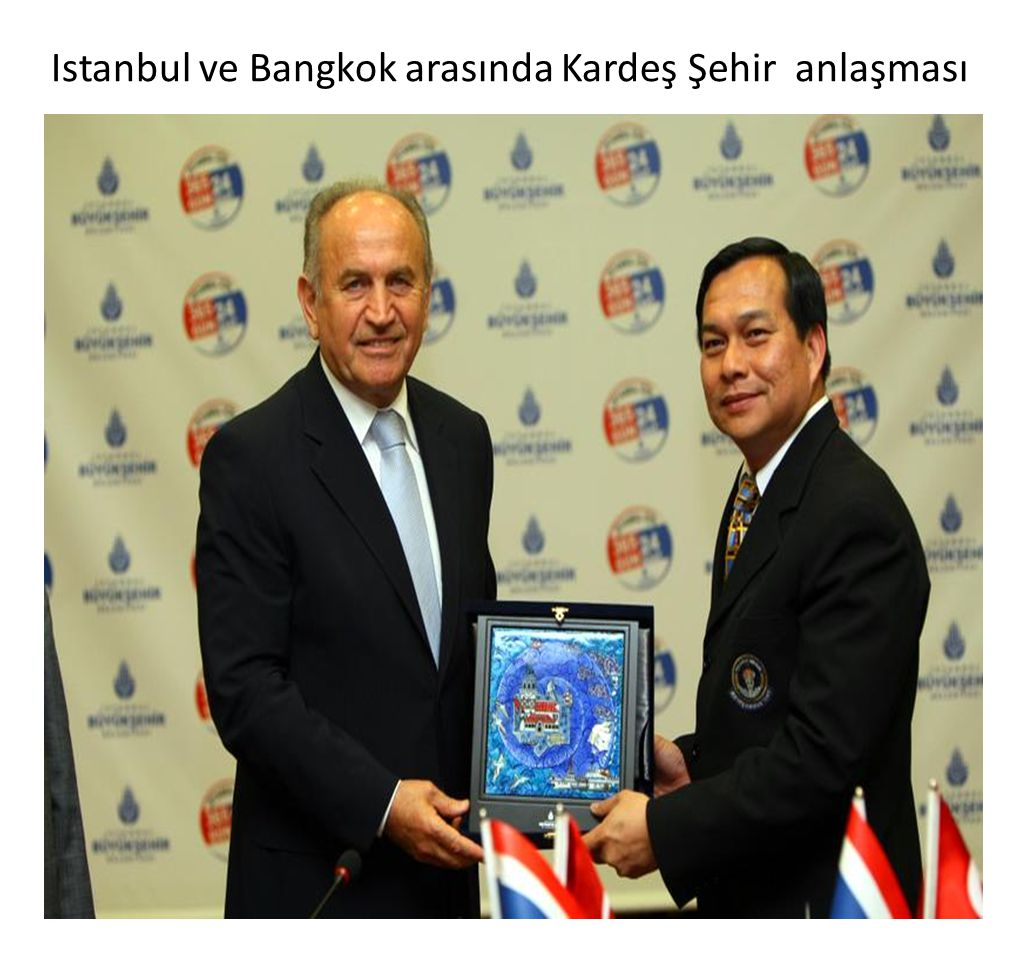 Istanbul ve Bangkok arasında Kardeş Şehir anlaşması