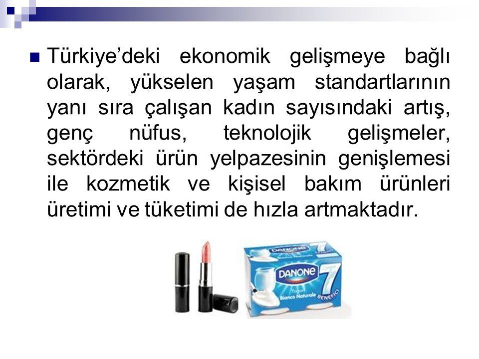 Türkiye'deki ekonomik gelişmeye bağlı olarak, yükselen yaşam standartlarının yanı sıra çalışan kadın sayısındaki artış, genç nüfus, teknolojik gelişme