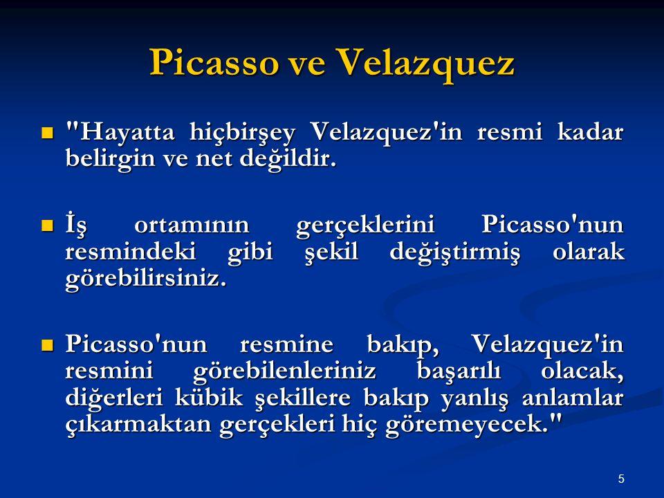 Picasso ve Velazquez