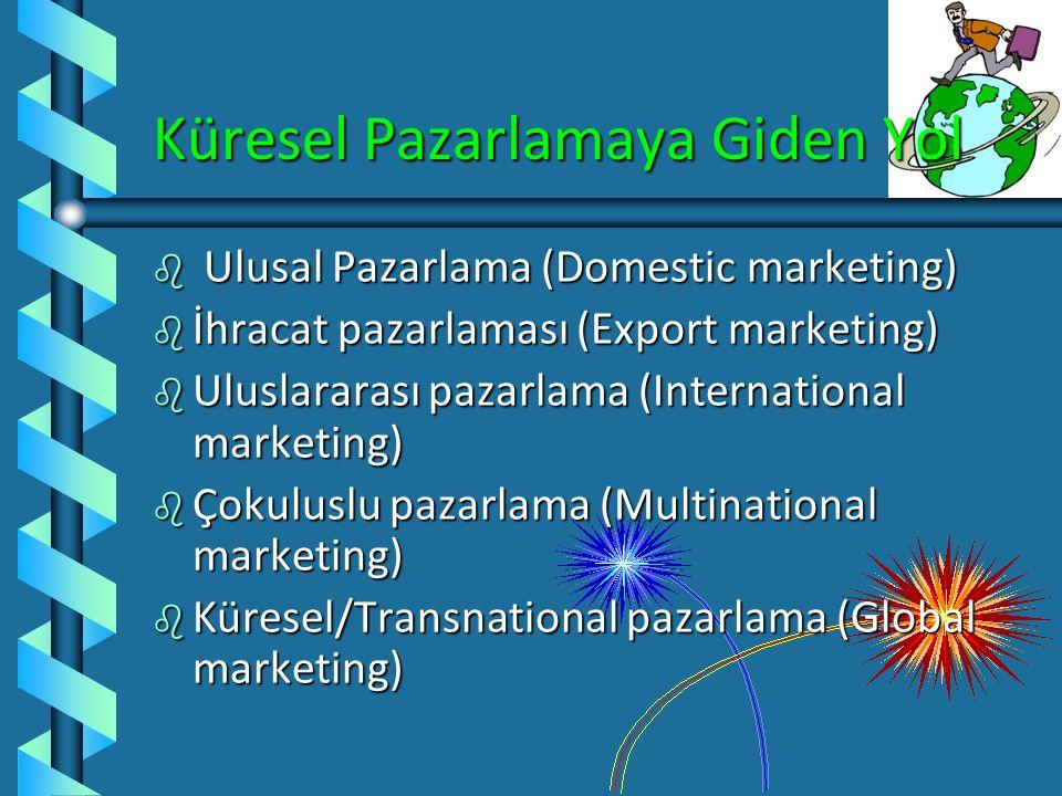 Kültür ve Pazarlama Karması (devam) b Dağıtım: Kültürel unsurlar dağıtım kanalı üzerinde etkili olabilir. b Promotion: Promotion is the most visible m