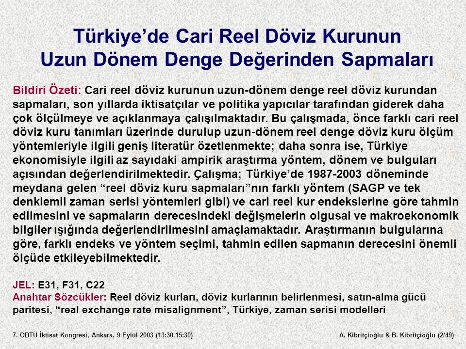 A.Kibritçioğlu & B. Kibritçioğlu (3/49) 7.