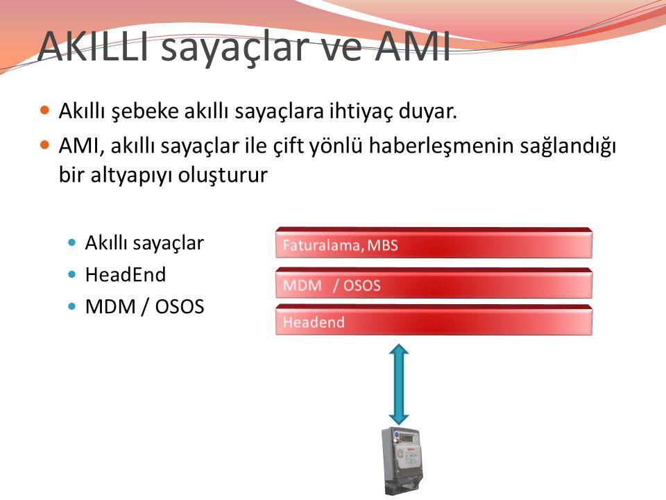 Birlikte Çalışabilirlik – 2 AMI sistemlerinde birlikte çalışabilirlik çok önemli bir sorun olarak karşımıza çıkmaktadır.