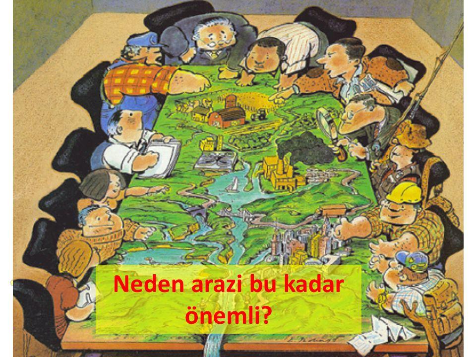Arazi,yeryüzünde yaşayan tüm canlılar için vazgeçilmez en değerli kaynaklar arasında yer almaktadır.