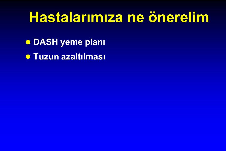 Hastalarımıza ne önerelim l DASH yeme planı l Tuzun azaltılması