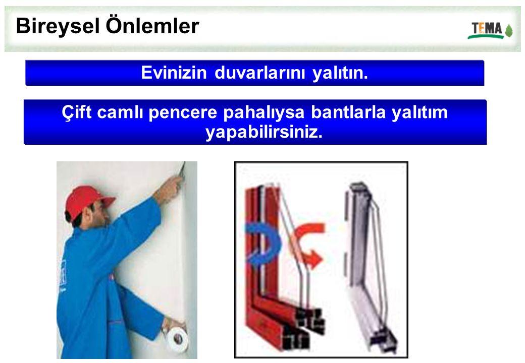 Evinizin duvarlarını yalıtın. Bireysel Önlemler Çift camlı pencere pahalıysa bantlarla yalıtım yapabilirsiniz.