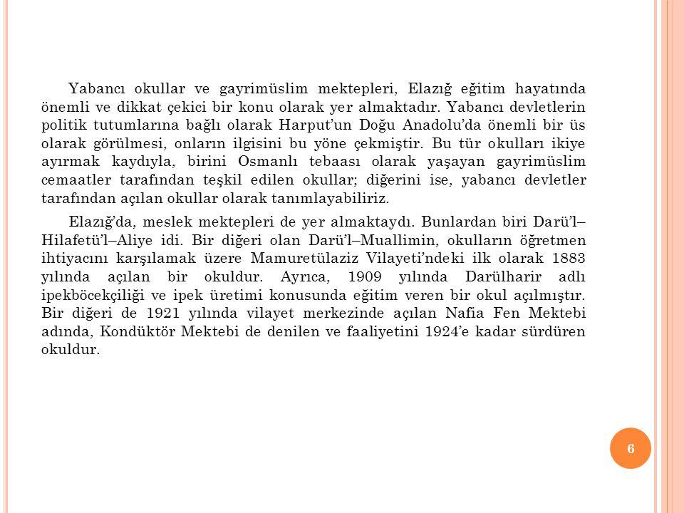 57 İLÇEKURUM ADI YERLEŞİ M YERİ SINIFLAR BAZINDA ŞUBE VE ÖĞRENCİ SAYILARI 1.