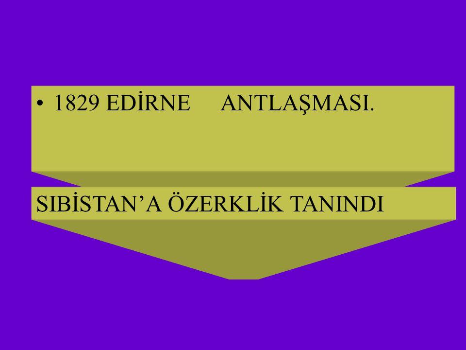 1812 BÜKREŞ ANTLAŞMASI SIRPLARA AYRICALIK TANINDI