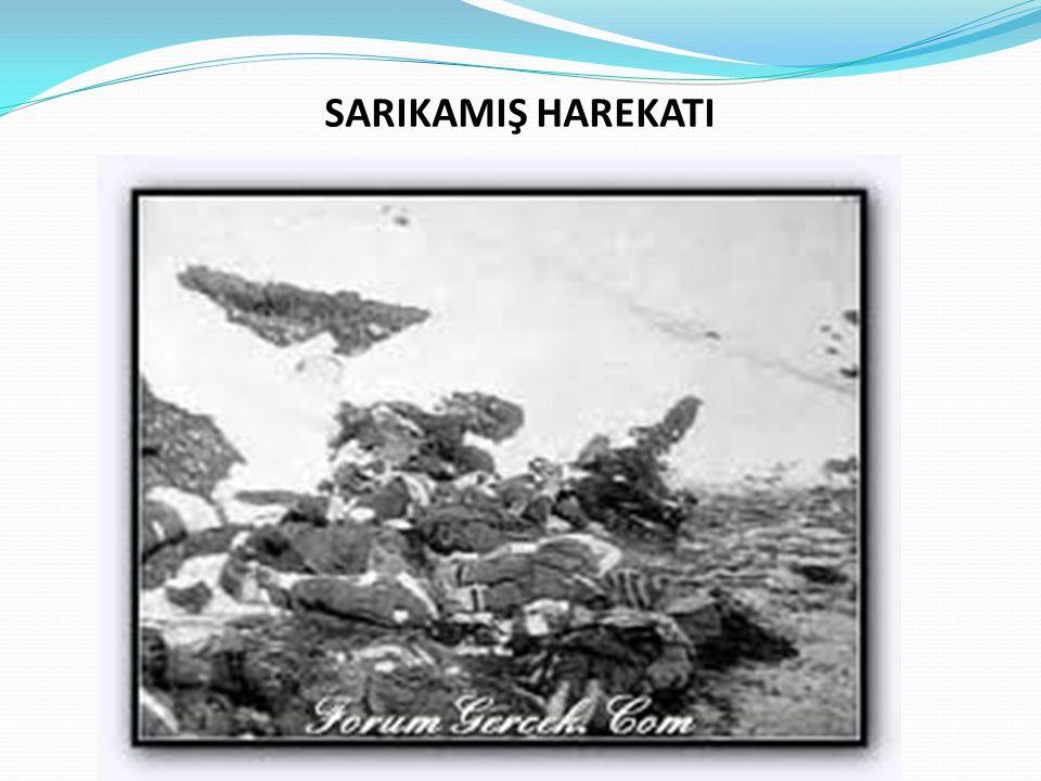 SARIKAMIŞ HAREKATI