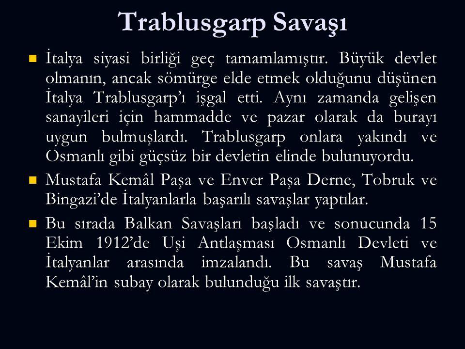 I.İNÖNÜ ZAFERİ (6-10 Ocak 1921) iki büyük siyasi sonucu olmuştur.