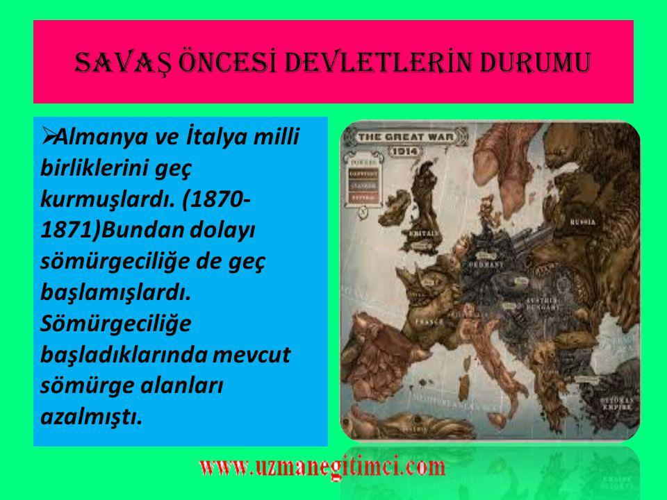 1-)KAFKAS CEPHES İ  Rusya'da Bolşevik ihtilalinin başlaması (Ekim 1917) Kafkas Cephesinde Osmanlı lehine sonuçlar ortaya çıkarmış; Ruslarla Osmanlı arasında 15 Aralık 1917'de Erzincan Mütarekesi; Ruslar ile İttifak devletleri ve Osmanlı arasında 3 Mart 1918 ise Brest-Litowsk Antlaşması imzalanmıştır.