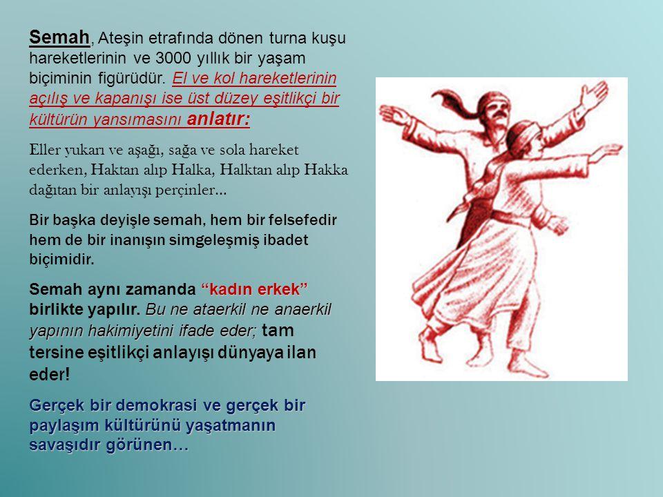 Aleviler… Aleviler Cumhuriyetin harcıdır.