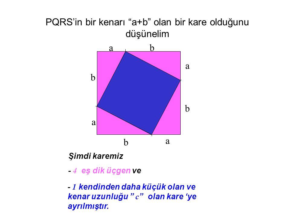 Pisagor Teoremiminin İspatı
