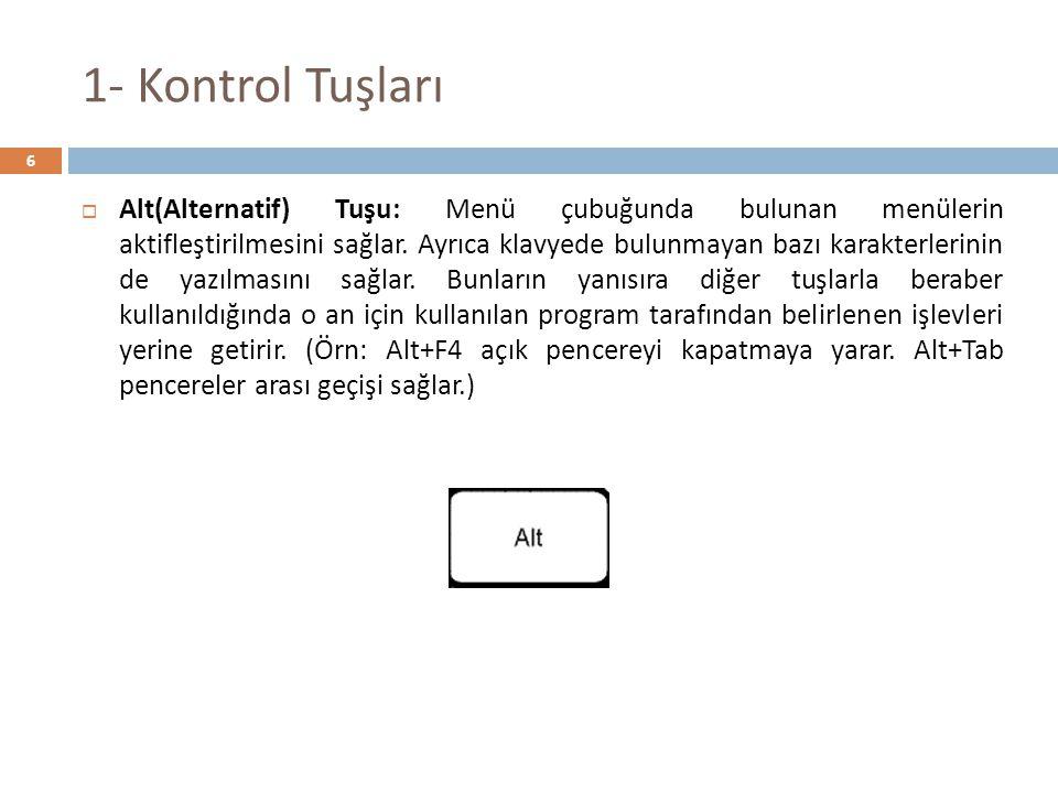 Kaynaklar  Güven Tanış, KLAVYE TEKNİKLERİ ON PARMAK KLAVYE KULLANIMI % 100 BAŞARI, Detay Yayıncılık, Ankara, 2009.