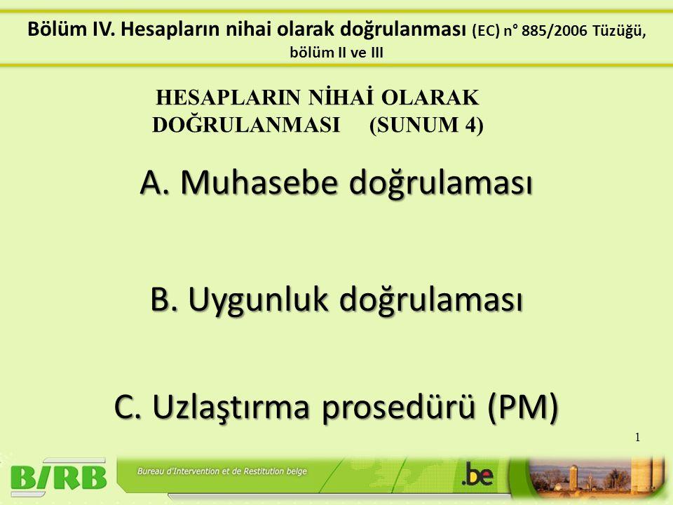 A1.Yıllık hesapların içeriği (Madde 6) A2. Bilgilerin sunulması ve aktarılması (Madde 7 & 8) A3.
