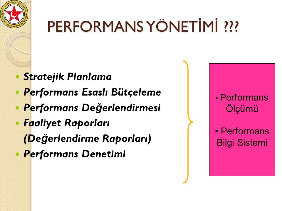 PERFORMANS YÖNET İ M İ ??.