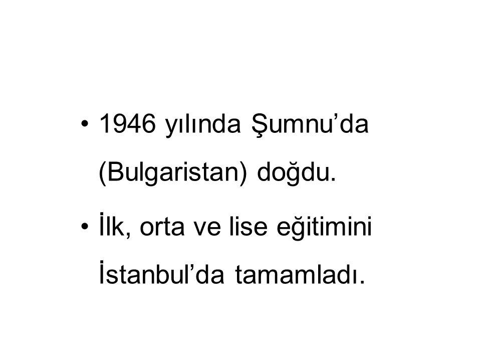 1966-1972 yılları arasındaki yüksek öğrenimini Ankara Üniversitesi Tıp Fakültesi'nde tamamladı.