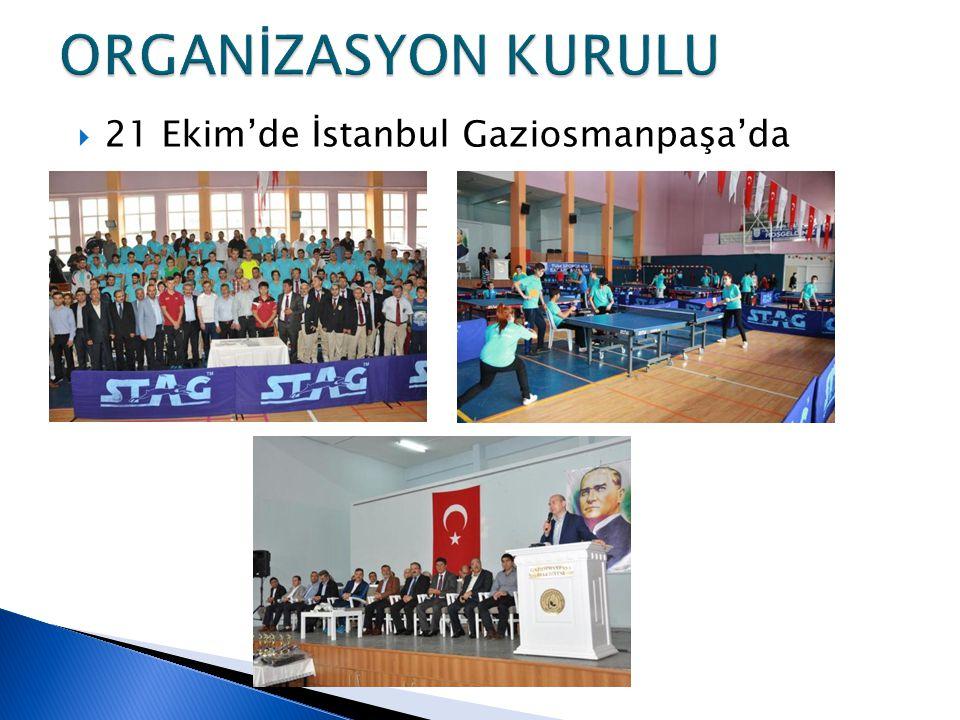  21 Ekim'de İstanbul Gaziosmanpaşa'da