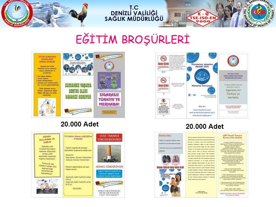 EĞİTİM BROŞÜRLERİ 20.000 Adet