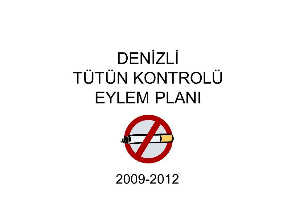 DENİZLİ TÜTÜN KONTROLÜ EYLEM PLANI 2009-2012