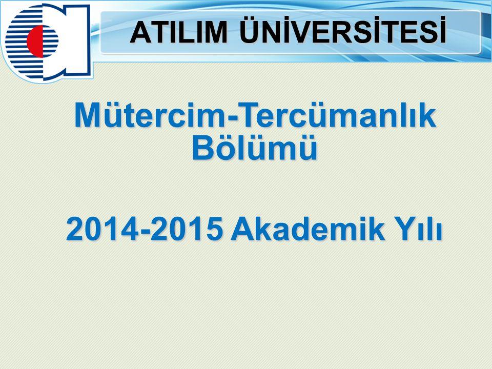 Mütercim-Tercümanlık Bölümü Prof.Dr.